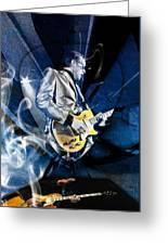 Joe Bonamassa Blues Guitarist Art Greeting Card