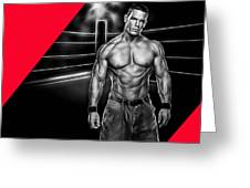John Cena Wrestling Collection Greeting Card
