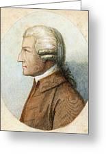 John Howard, C1726-1790 Greeting Card