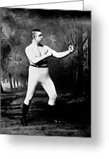 John L. Sullivan (1858-1918) Greeting Card by Granger