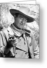 John Wayne (1907-1979) Greeting Card