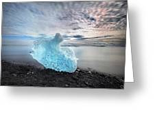 Jokulsarlon - Iceland Greeting Card