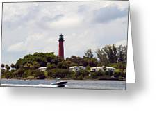 Jupiter Florida Greeting Card