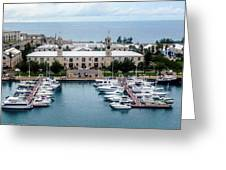 Kings Wharf Bermuda Greeting Card