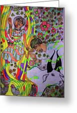 Kintu And Nambi A Folktale Greeting Card