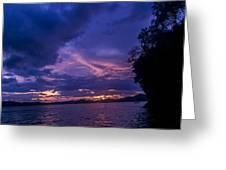 Krabi Sunset Greeting Card