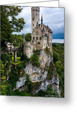 Lichtenstein Castle - Baden-wurttemberg - Germany Greeting Card