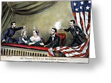 Lincoln Assassination Greeting Card