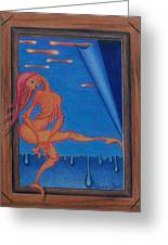 Liquid Spirit Greeting Card by Sharon Ebert