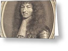 Louis Xiv Greeting Card