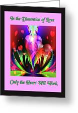 Love And Devotion Greeting Card