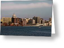 Madison Wisconsin Greeting Card