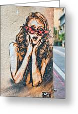 Marseille Street Art, Le Panier And Le Cours Julien Greeting Card
