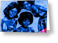 Martha And The Vandellas Collection Greeting Card