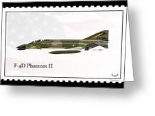 Mcdonnell Douglas F-4d Phantom II Greeting Card