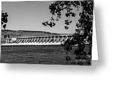 Mcnary Dam Greeting Card
