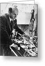 Melvin Calvin, American Chemist Greeting Card