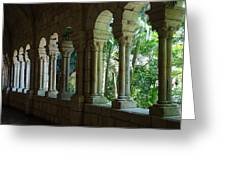 Miami Monastery Greeting Card