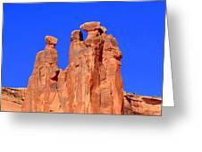 Moab Landscape Greeting Card