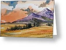 Montana Landscape Greeting Card