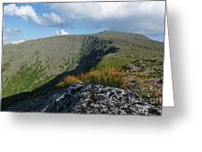 Mount Washington - New Hampshire White Mountains Greeting Card