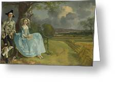 Mr And Mrs Andrews Greeting Card