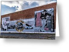 Mural - Downtown Bristol Tennessee/virginia Greeting Card