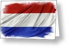 Netherlands Flag Greeting Card