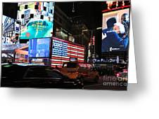 New York City Times Square Greeting Card