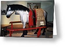 North Dakota Cowboy Hall Of Fame Greeting Card