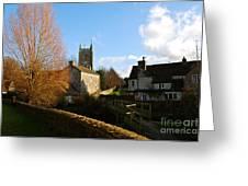 Nunney Church Greeting Card