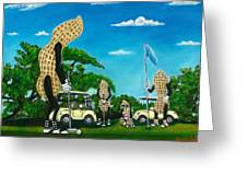 Nutz Bout Golf Greeting Card