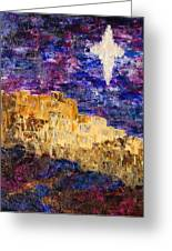 Oh Bethlehem Greeting Card by Deborah Gall