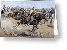 Oklahoma Land Rush, 1889 Greeting Card