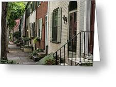 Old City Philadelphia Greeting Card