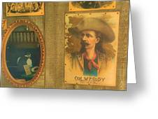 Old West Antiques Greeting Card