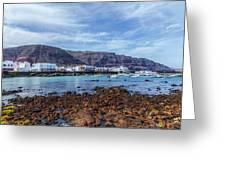 Orzola - Lanzarote Greeting Card