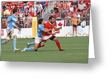Pamam Games Men's Rugby 7's Greeting Card