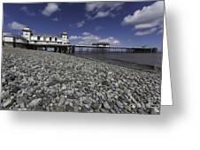 Penarth Pier 2 Greeting Card