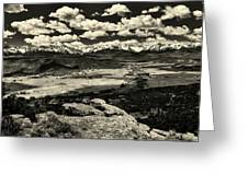 Pleasant Valley Colorado Greeting Card