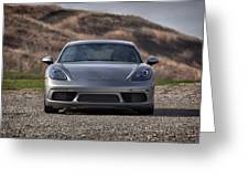 #porsche #718cayman S #print Greeting Card