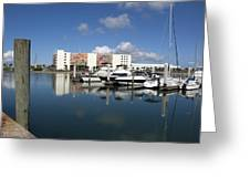 Port Canaveral Florida Usa Greeting Card