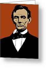 President Lincoln Greeting Card