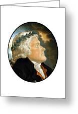 President Thomas Jefferson Greeting Card