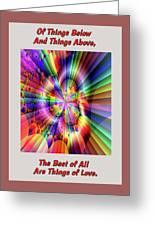 Rainbow Light Greeting Card