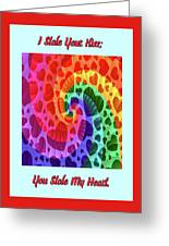 Rainbow Love Greeting Card