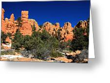 Red Canyon State Park Greeting Card