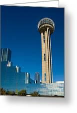 Reunion Tower - Dallas Texas Greeting Card