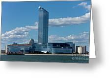 Revel Casino In Atlantic City, New Jersey Greeting Card