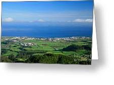 Ribeira Grande - Azores Greeting Card